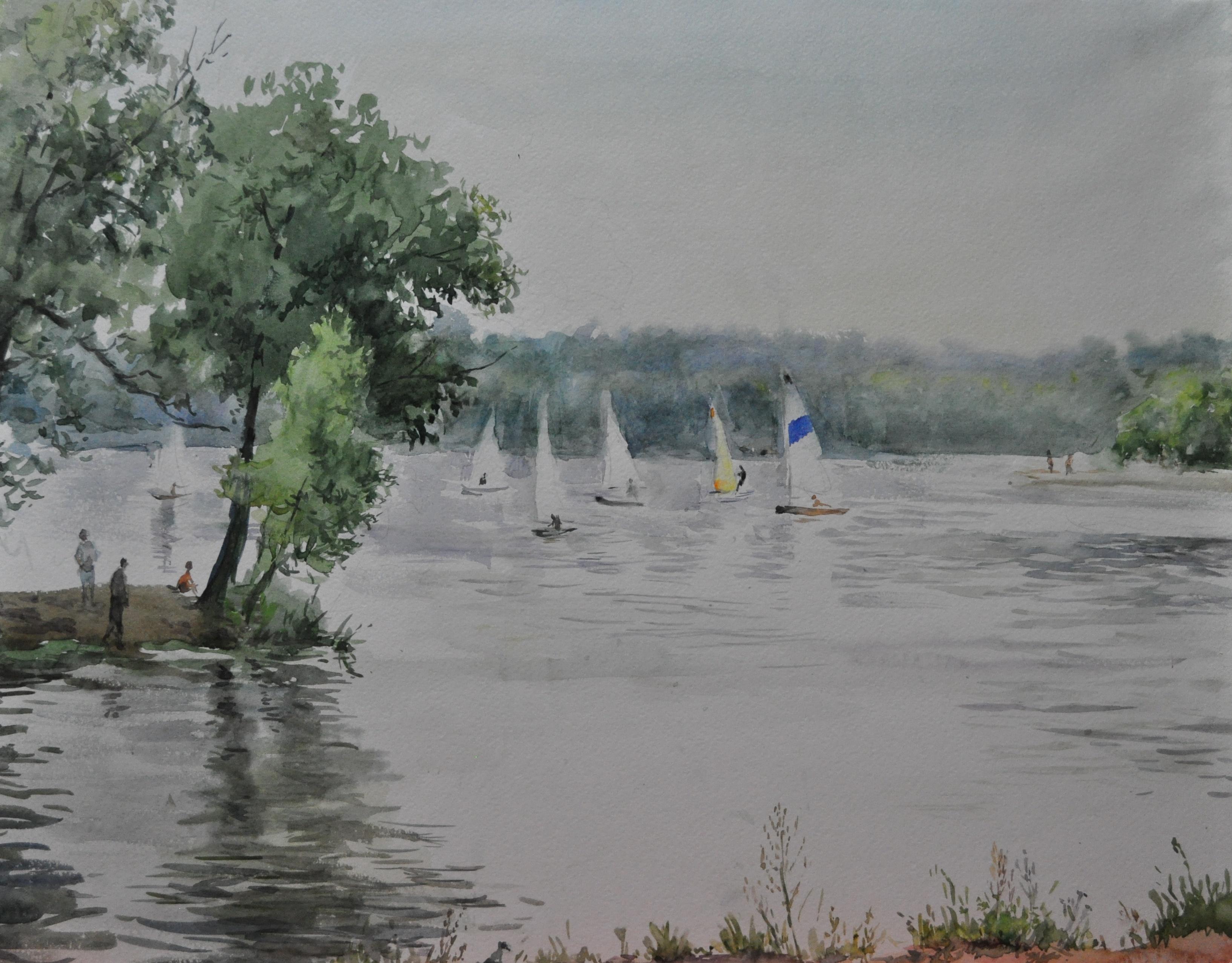 Art gallery of russian painter borzhievskaya t.v